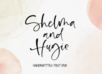 Shelma & Hugie Script Font