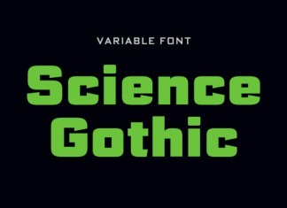 Science Gothic Font