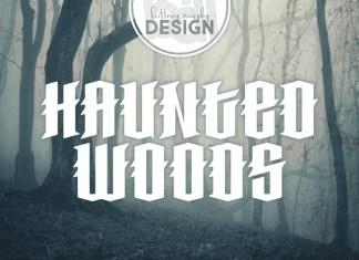Haunted Woods Font