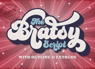 Bratsy Font