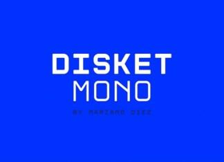 Disket Mono Font