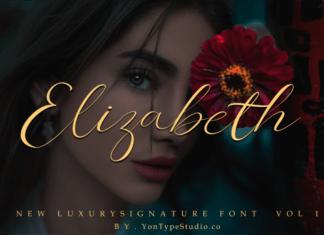 Elizabeth Signature Font
