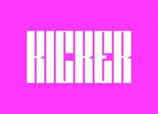 Kicker Font