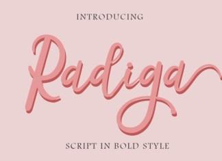 Radiga Font