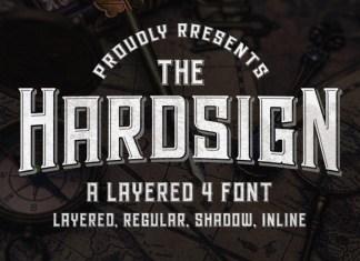 Hardsign Font