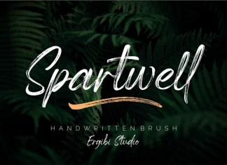 Spartwell Font