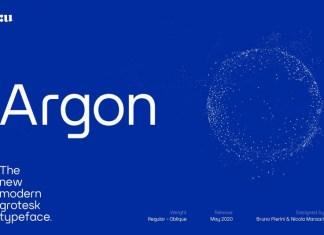 Argon Font