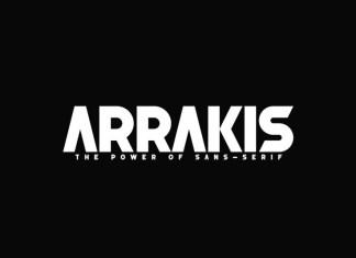 Arrakis Font