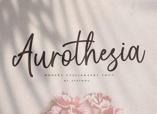 Aurothesia Font
