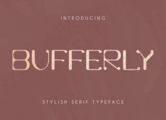 Bufferly Font