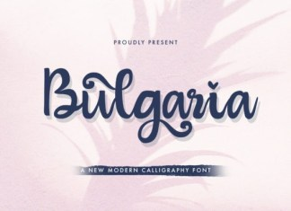 Bulgaria Font
