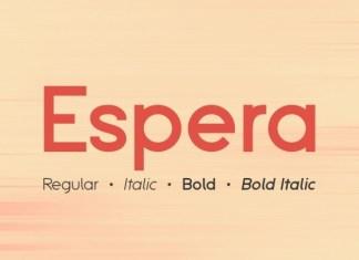 Espera Font