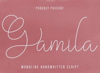 Gamila Font