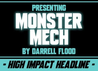 Monster Mech Font