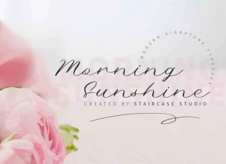 Morning Sunshine Font