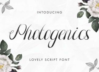 Photogenics Font