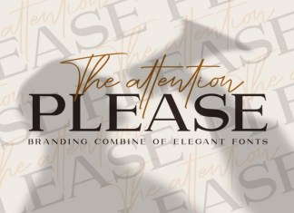 The attention Please Font