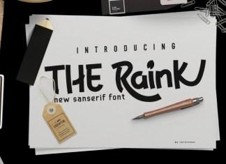 The Raink Font