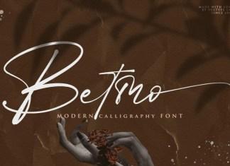 Betmo Font