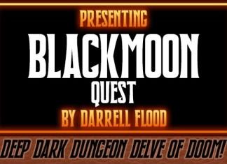 Blackmoon Quest Font