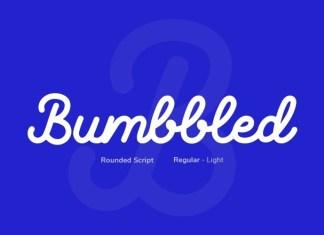 Bumbbled Font