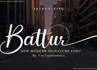 Battur Font