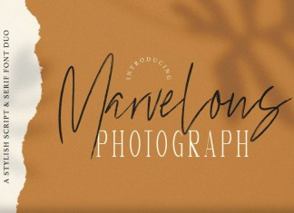 Marvelous Photograph Font