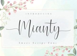 Mianty Font