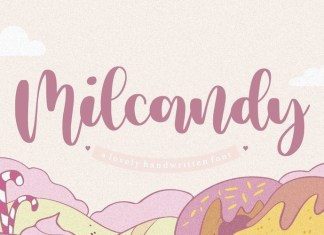 Milcandy Font