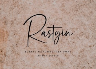 Rastyin Font