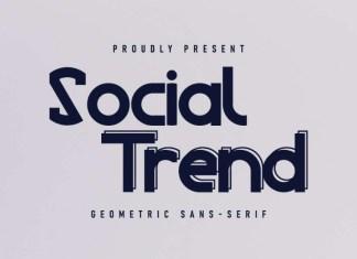 Social Trend Font