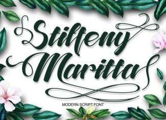 Stiffeny Maritta Font