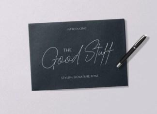 The Good Stuff Font