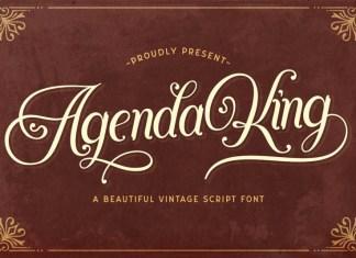 Agenda King Font