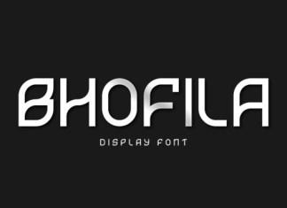Bhofila Font