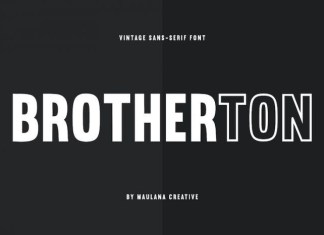Brotherton Font