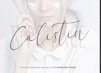 Calistin Font