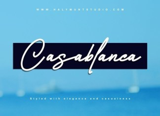 Casablanca Font