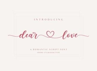 Dear Love Font