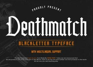 Deathmatch Font