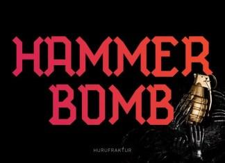 Hammer Bomb Font