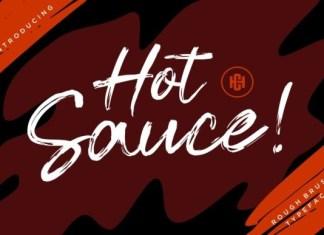 Hot Sauce Font