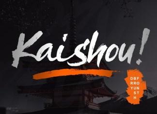 Kaishou! Font
