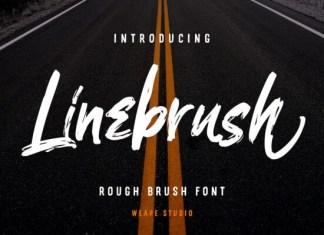 Linebrush Font