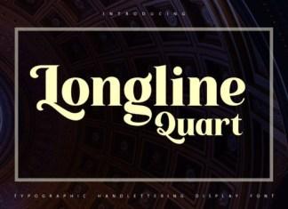 Longline Quartz Font