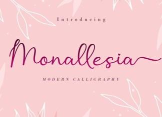 Monallesia Font