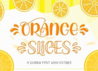 Orange Slices Font