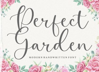 Perfect Garden Font
