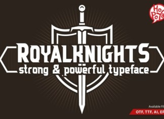 Royal Knights Font
