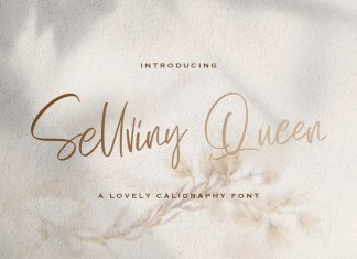 Sellviny Queen Font